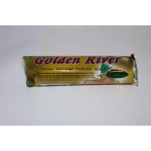 Ароматни въглени Golden River с аромат на лимон