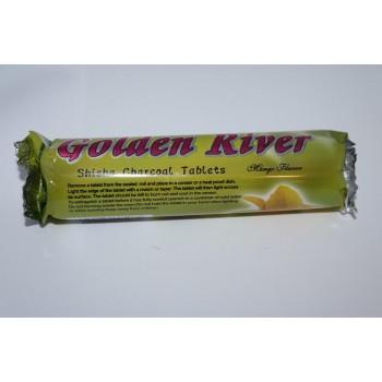 Ароматни въглени Golden River с аромат на манго