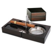 Сгъваем пепелник за пури Silver Flame SF 0102