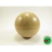 Дървен гриндер топка
