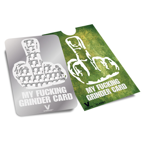 Гриндер карта MY GRINDER CARD!