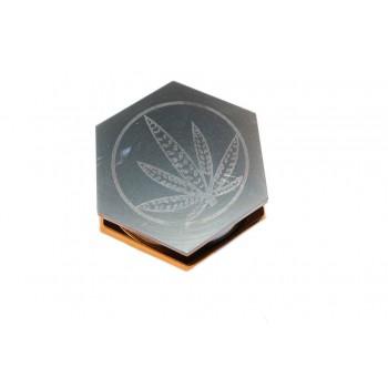 Гриндер шестоъгълен с листо метален