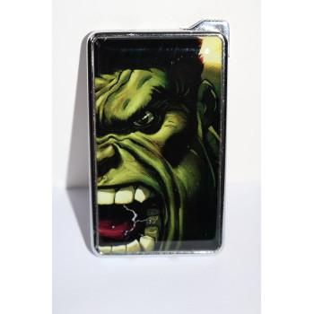 Метална запалка с огледална повърхност Hulk