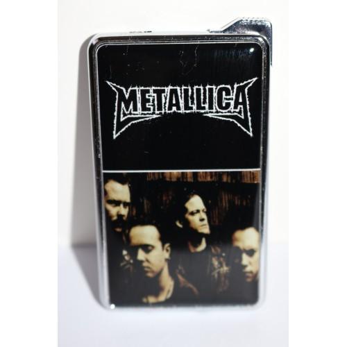 Метална запалка Metalica с огледална повърхност