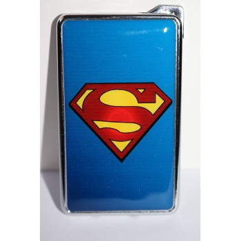 Метална запалка с огледална повърхност Superman