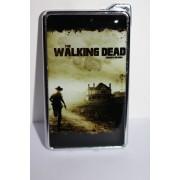 Метална запалка с огледална повърхност Walking Dead