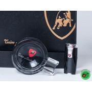 Комплект запалка за пури и пепелник Lamborghini
