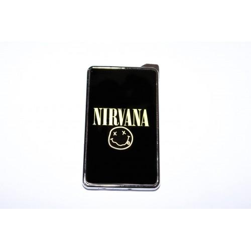 Метална запалка с огледална повърхност Nirvana