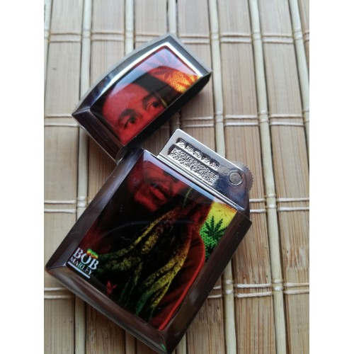 Метална запалка Bob Marley