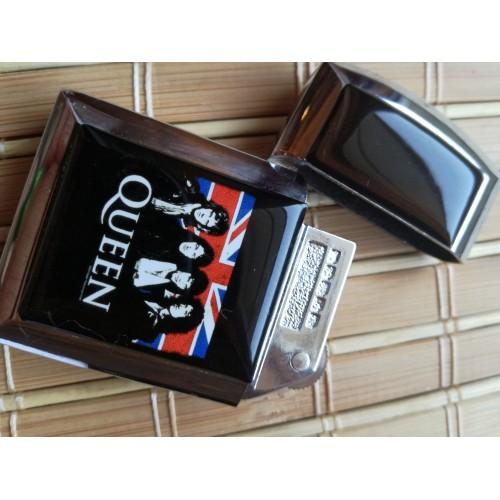 Метална запалка Queen