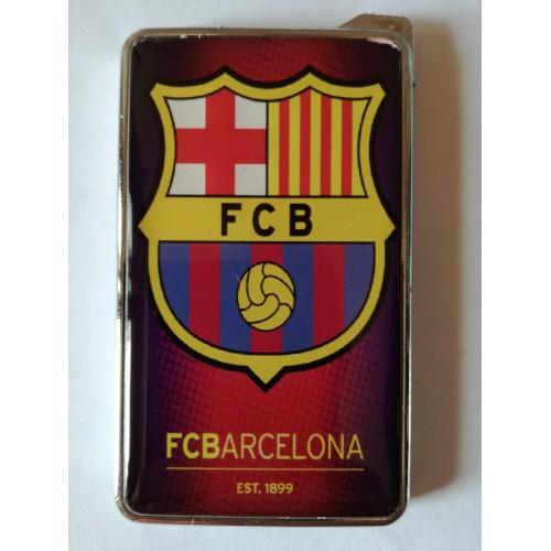 Метална запалка с огледална повърхност Barcelona