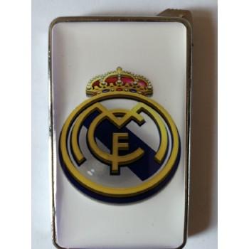 Метална запалка с огледална повърхност Real Madrid