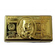 Метална запалка сто доларова банкнота