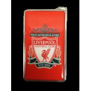 Метална запалка с огледална повърхност Liverpool