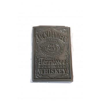 Метална запалка със странично палене Jack Daniels