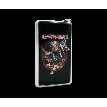 Метална запалка с огледална повърхност Iron Maiden