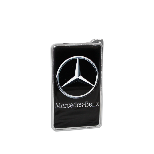 Метална запалка с огледална повърхност Мерцедес