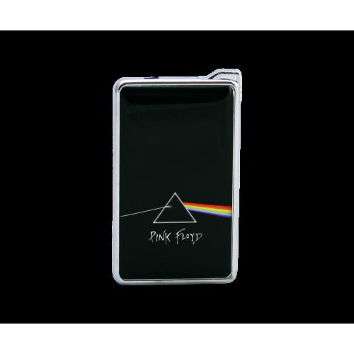 Метална запалка с огледална повърхност Pink Floyd