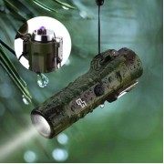 Камуфлажна плазмена запалка с фенерче GG