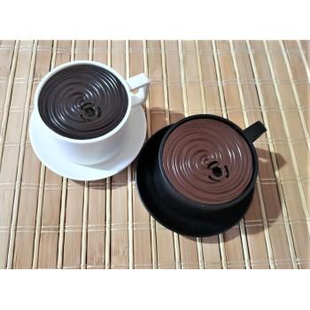 Запалка чаша кафе